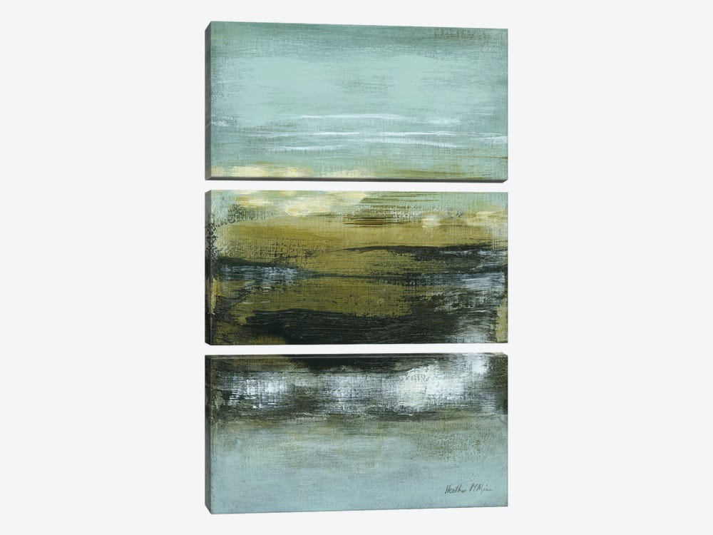 Coastline II by Heather McAlpine 3-piece Canvas Artwork
