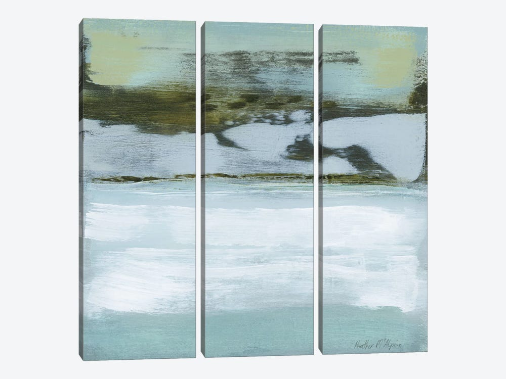 Ocean's Edge by Heather McAlpine 3-piece Canvas Wall Art