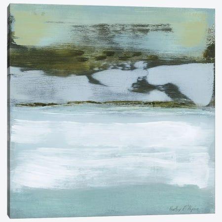 Ocean's Edge Canvas Print #HMC27} by Heather McAlpine Art Print