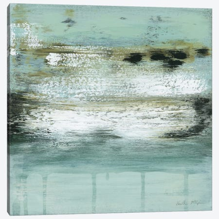 Ocean's Fizz Canvas Print #HMC28} by Heather McAlpine Canvas Artwork