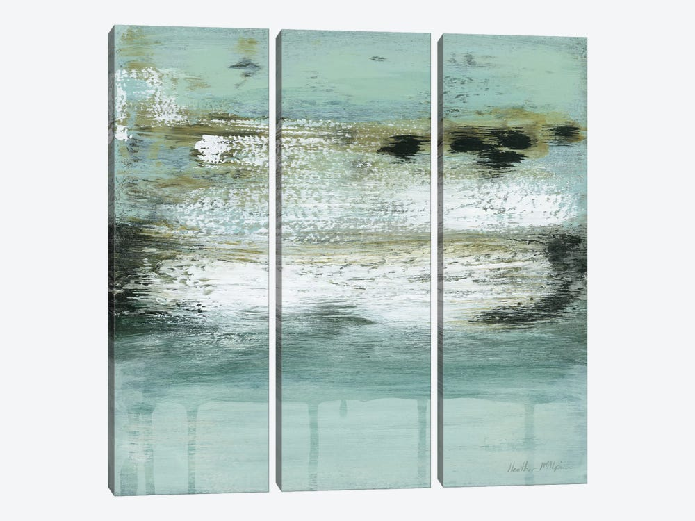 Ocean's Fizz by Heather McAlpine 3-piece Canvas Art Print