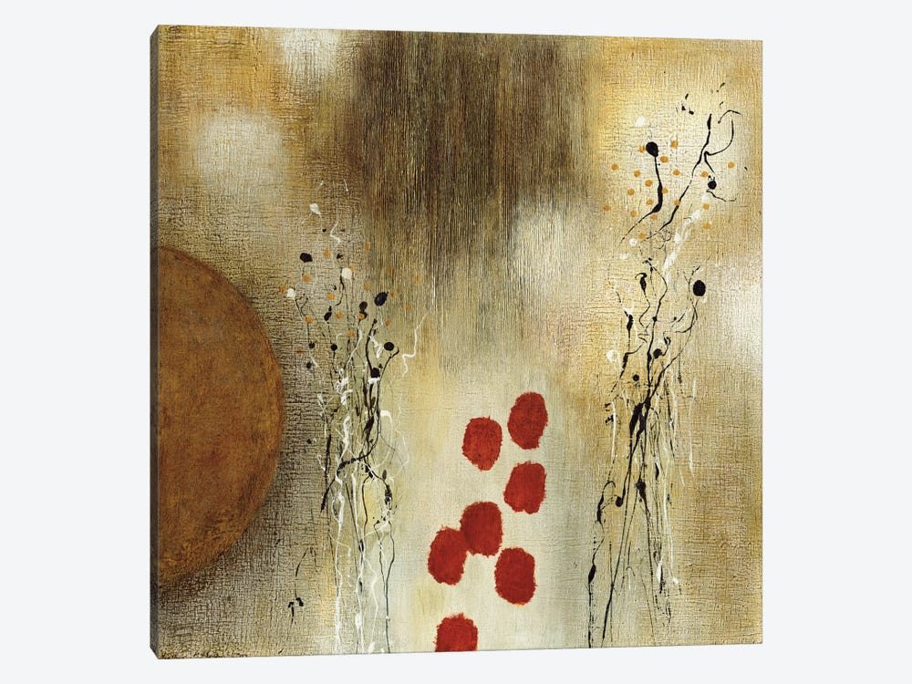 Autumn Moon I by Heather McAlpine 1-piece Canvas Artwork