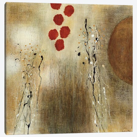 Autumn Moon II Canvas Print #HMC3} by Heather McAlpine Canvas Artwork