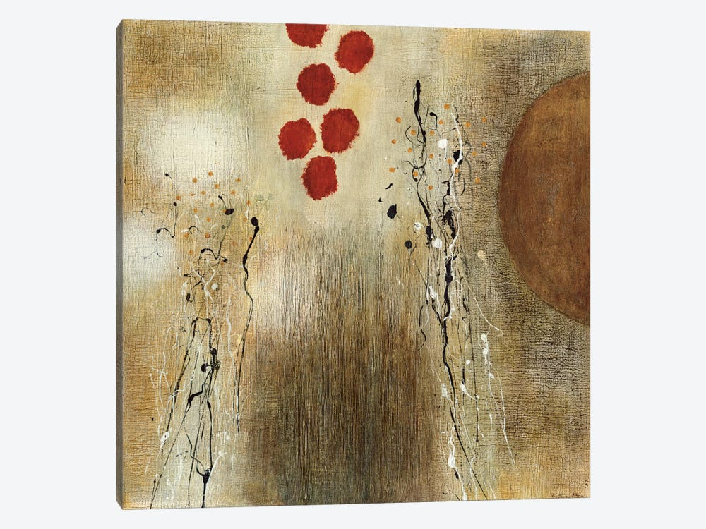 Autumn Moon II by Heather McAlpine 1-piece Art Print