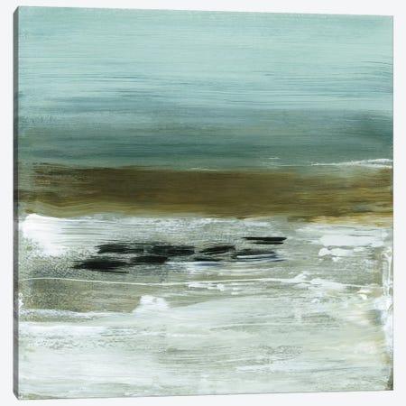 Beach Horizon Canvas Print #HMC4} by Heather McAlpine Canvas Art Print