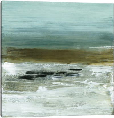 Beach Horizon Canvas Print #HMC4