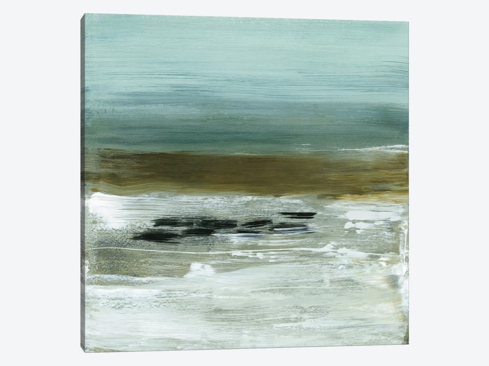 Beach Horizon by Heather McAlpine 1-piece Canvas Art