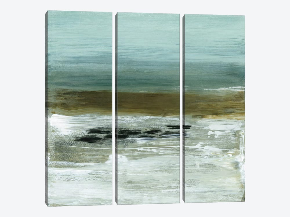 Beach Horizon 3-piece Canvas Wall Art
