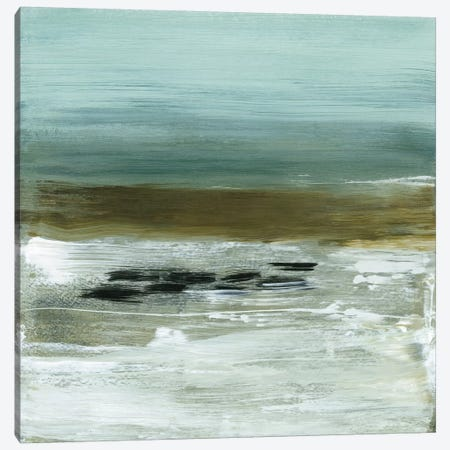 Beach Horizon Canvas Print #HMC4} by Heather McAlpine Canvas Art Print