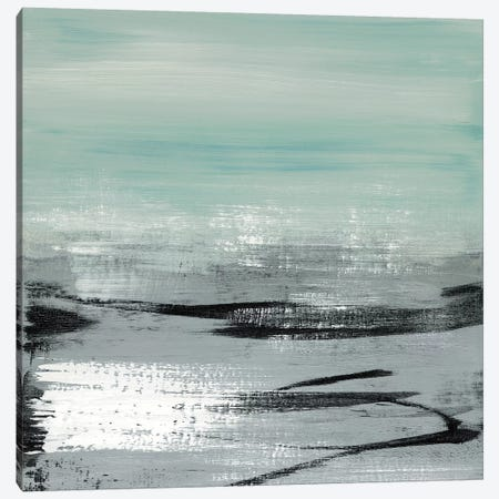 Beach I Canvas Print #HMC5} by Heather McAlpine Canvas Print