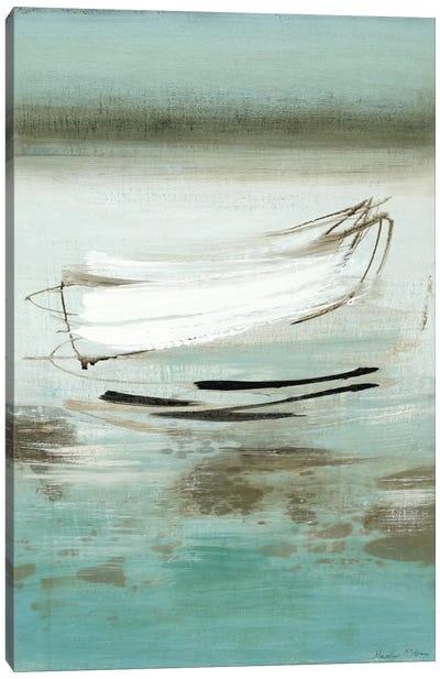 Canoe Canvas Art Print