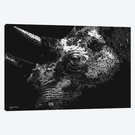 Big 5 Collection - Rhino Canvas Print #HMI101} by Johan Marais Canvas Artwork