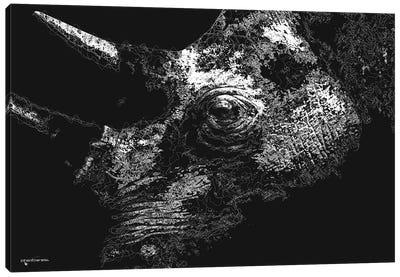 Big 5 Collection - Rhino Canvas Art Print