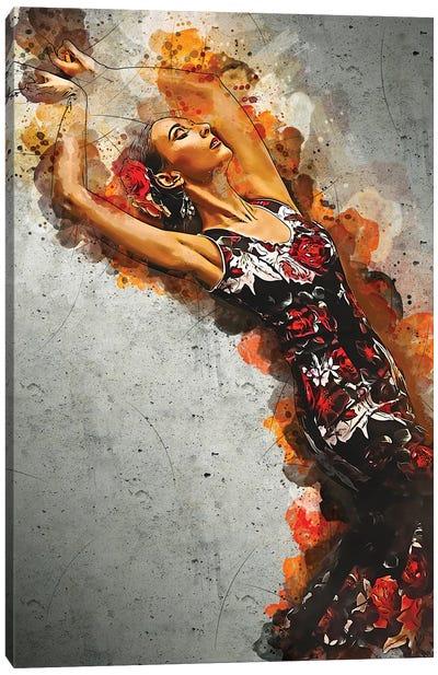 Dance Of Romance Canvas Art Print