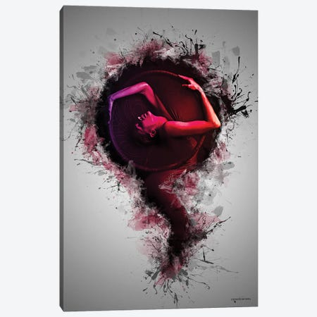 Artistic Female Concept Canvas Print #HMI13} by Johan Marais Art Print