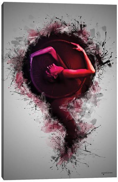Artistic Female Concept Canvas Art Print