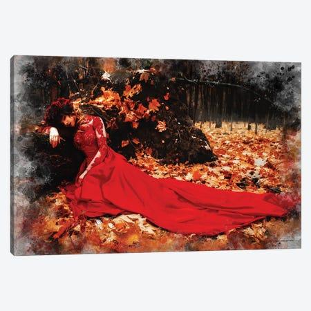 Autumn Splendor Canvas Print #HMI14} by Johan Marais Canvas Art
