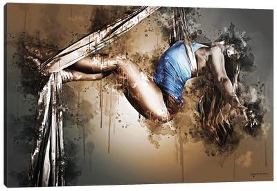 Acrobat Elegance Canvas Art Print