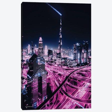 Burj Khalifa Dubai Canvas Print #HMI20} by Johan Marais Canvas Artwork