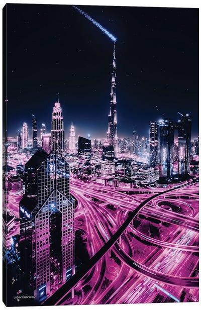 Burj Khalifa Dubai Canvas Art Print