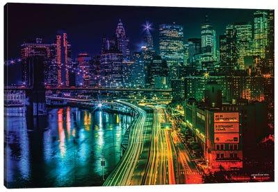 Colorful Nights Canvas Art Print