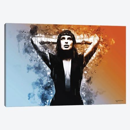 Allure Canvas Print #HMI24} by Johan Marais Canvas Print