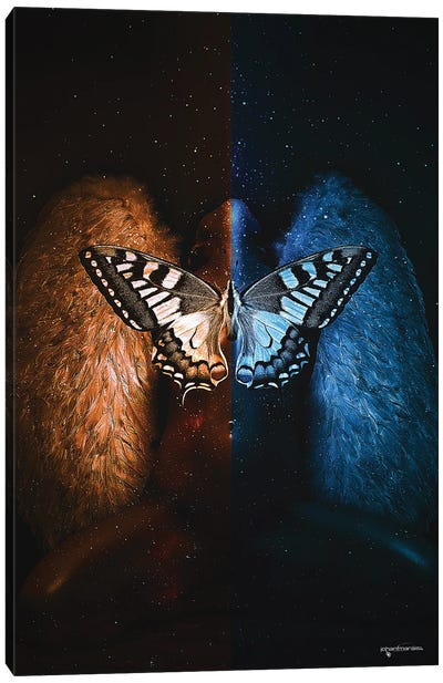 Exotic Angel Canvas Art Print