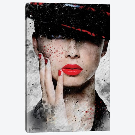 Fashion Portrait Canvas Print #HMI27} by Johan Marais Canvas Print