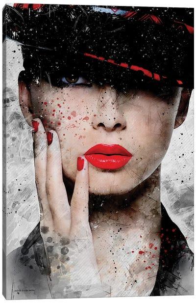 Fashion Portrait Canvas Art Print