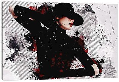 Feminine Elegance Canvas Art Print