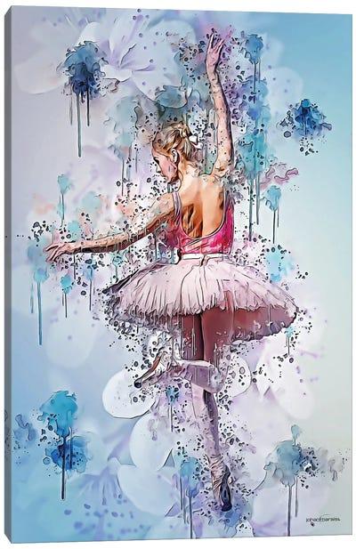 Floral Dance Canvas Art Print