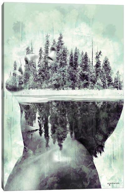 Frozen Memories Canvas Art Print