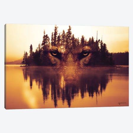 Lurking In The Shadows Canvas Print #HMI40} by Johan Marais Canvas Art