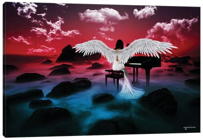 Music Of Angels Canvas Art Print
