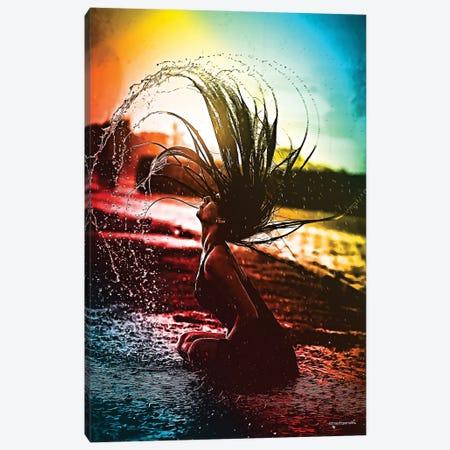 Neon Summer Days Canvas Print #HMI47} by Johan Marais Canvas Print