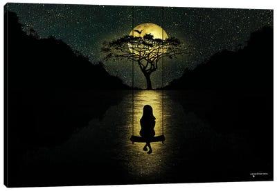 Moonlight Splendor Canvas Art Print