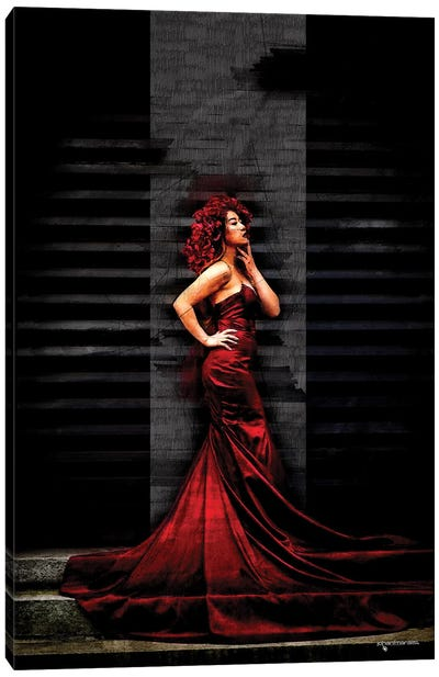 Red Passion Canvas Art Print
