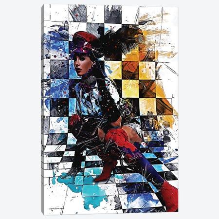 Schick Canvas Print #HMI61} by Johan Marais Canvas Wall Art