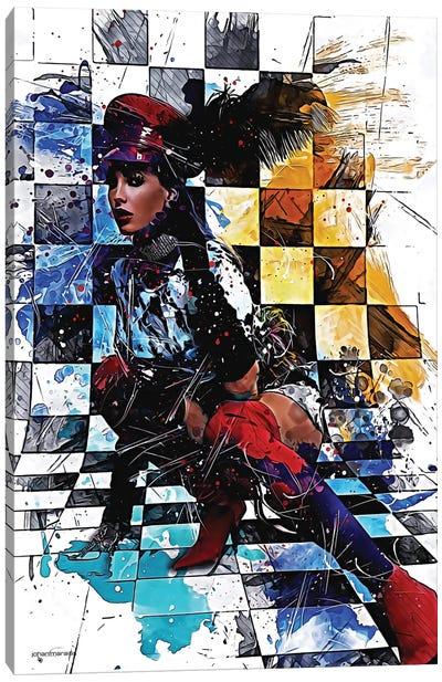 Schick Canvas Art Print
