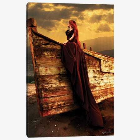Sunset Elegance Canvas Print #HMI72} by Johan Marais Art Print