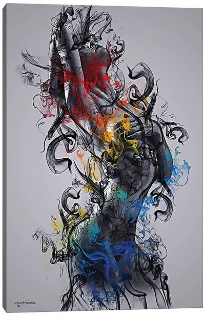 The Smoke Collection II Canvas Art Print