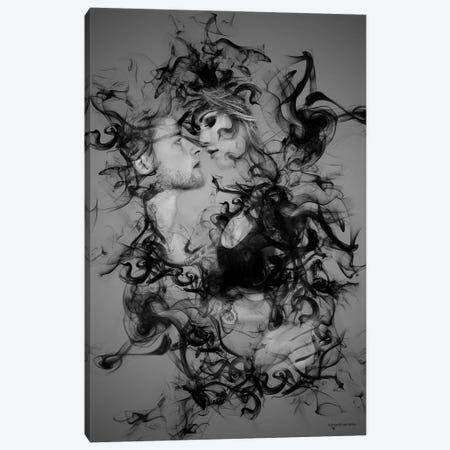 The Smoke Collection VI Canvas Print #HMI78} by Johan Marais Canvas Art Print
