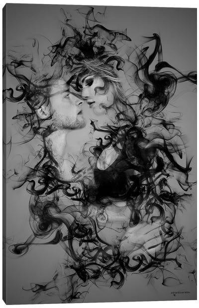 The Smoke Collection VI Canvas Art Print