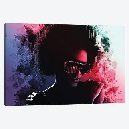 Those Disco Nights Canvas Print #HMI82} by Johan Marais Canvas Artwork