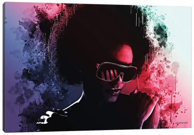 Those Disco Nights Canvas Art Print