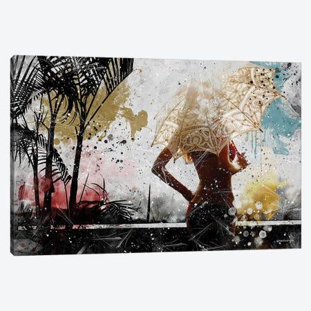 Sensual Tropical Summer Canvas Print #HMI84} by Johan Marais Canvas Print