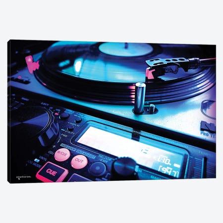 Long Live Vinyl Canvas Print #HMI85} by Johan Marais Art Print