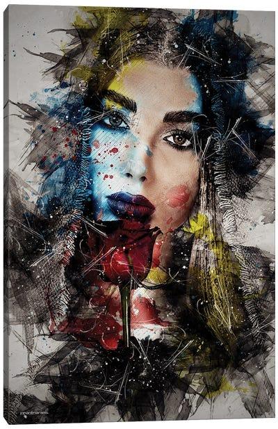 Untouched Beauty Canvas Art Print