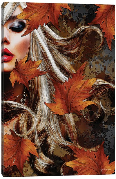 Beauty Of Autumn Canvas Art Print