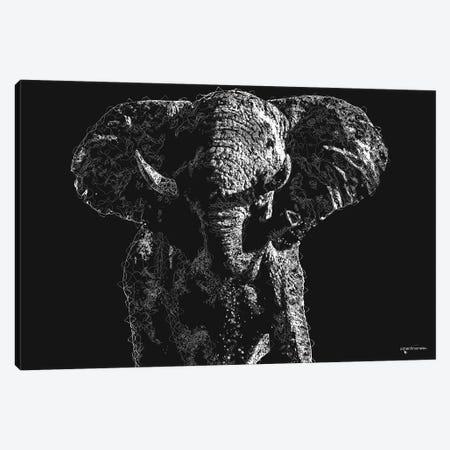 Big 5 Collection - Elephant Canvas Print #HMI98} by Johan Marais Canvas Art Print
